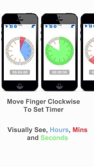 Visual Timer - Touch Timer 4 Kids & Teachers Screenshots