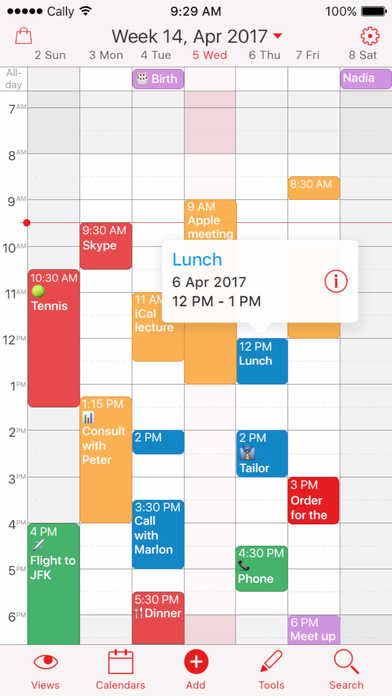 Weekly Calendar App : Week calendar an efficient powerful app with