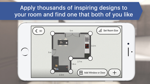 3d room planner for ikea home interior design on the for 3d room planner ipad
