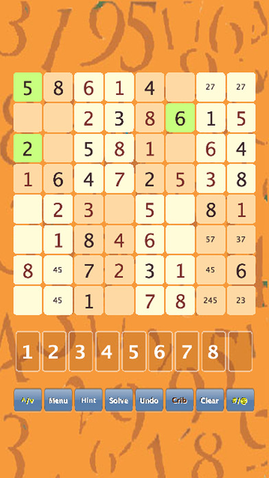 Sudoku mini for iPad iPhone Screenshot 1