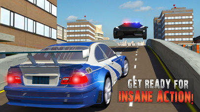Escape Police Car Chase Game: PRO screenshot 1
