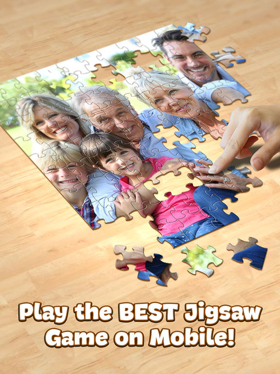 Screenshots of Jigsaw Puzzle for iPad