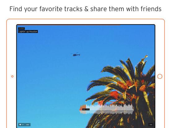 SoundCloud iPad Screenshot 2