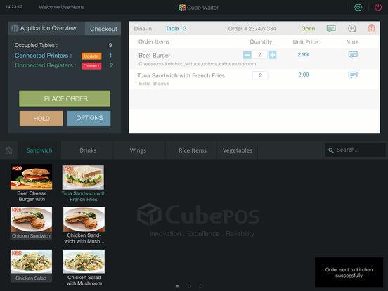 App shopper cubewaiter food drink for M kitchen harbison sc menu