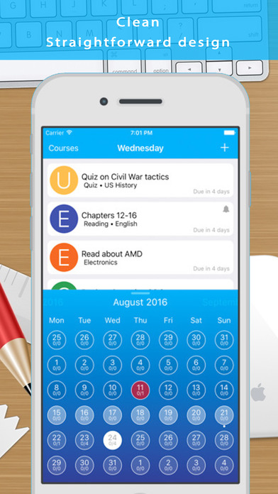 Calendars Pro - Event and Task Manager Apps for iPhone/iPad screenshot