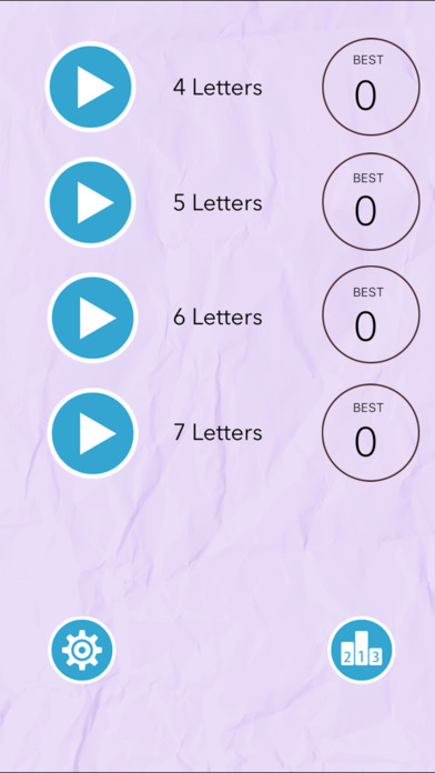 Shuffled Word Board Puzzle Pro screenshot 1