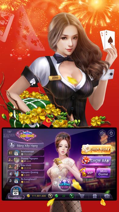 Screenshot 2 ZingPlay — Mậu Binh — Xập xám — Game bai online