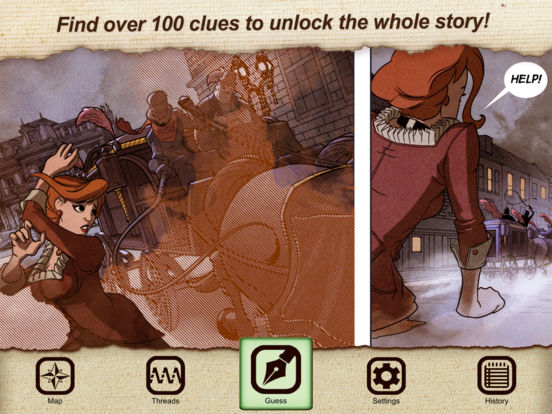 Sherlock Holmes: Art Of Detection (Ink Spotters) Screenshots