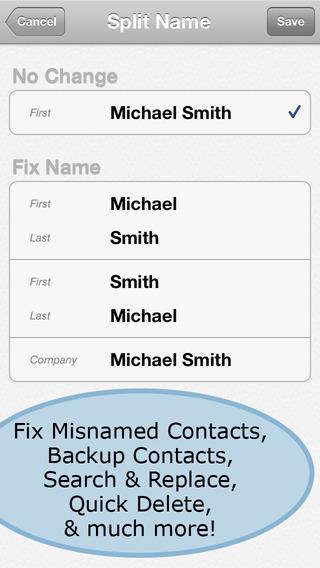 通讯录管理 ContactClean – Address Book Cleaner【一键清除重复联系人】
