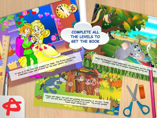 Игра Shadow Shapes: Бесплатные Сказки и Пазлы для Детей