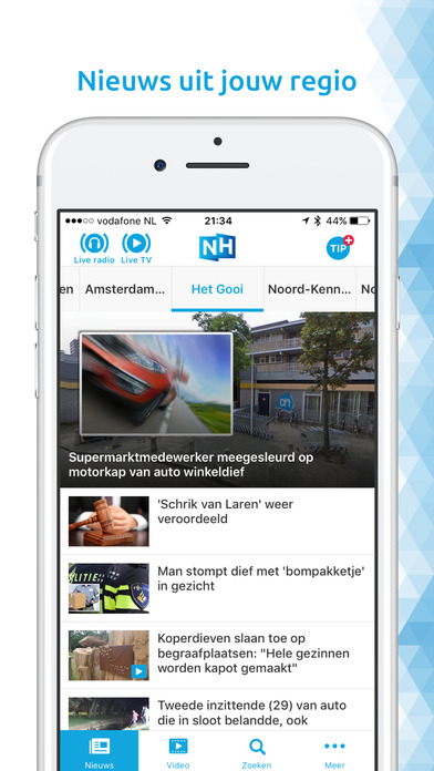 RTV Noord-Holland iPhone Screenshot 4