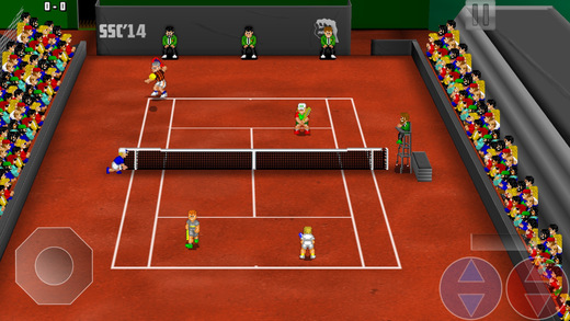 Tennis Champs Returns Screenshot