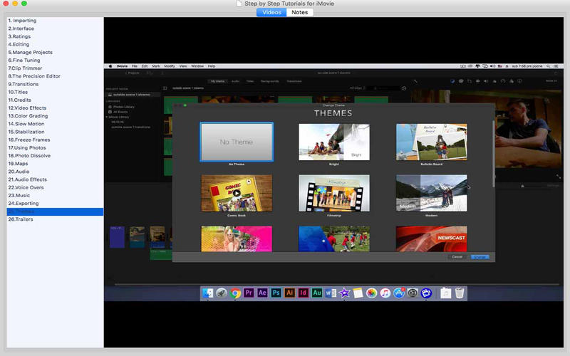 Step by Step Tutorial for iMovie By CLADI DATABASE ...