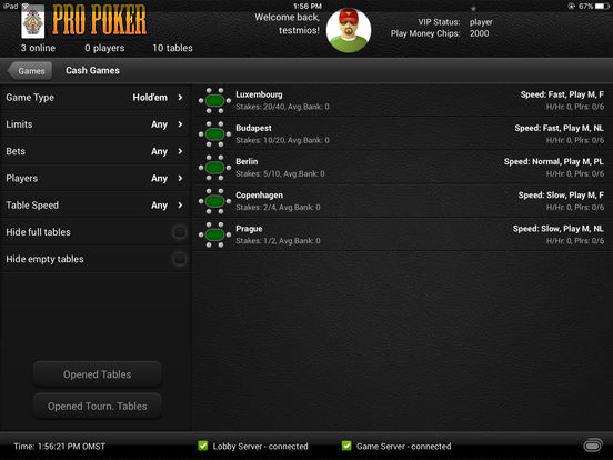 Pro Poker Online screenshot 6