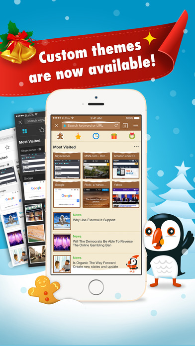 Puffin Browser Pro screenshot 1
