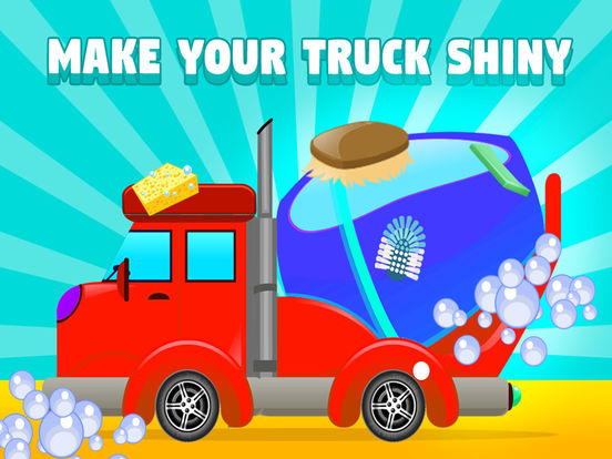 App shopper truck stop car van wash games for Truck design app