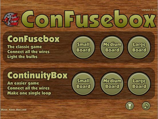 ConFusebox для iPad