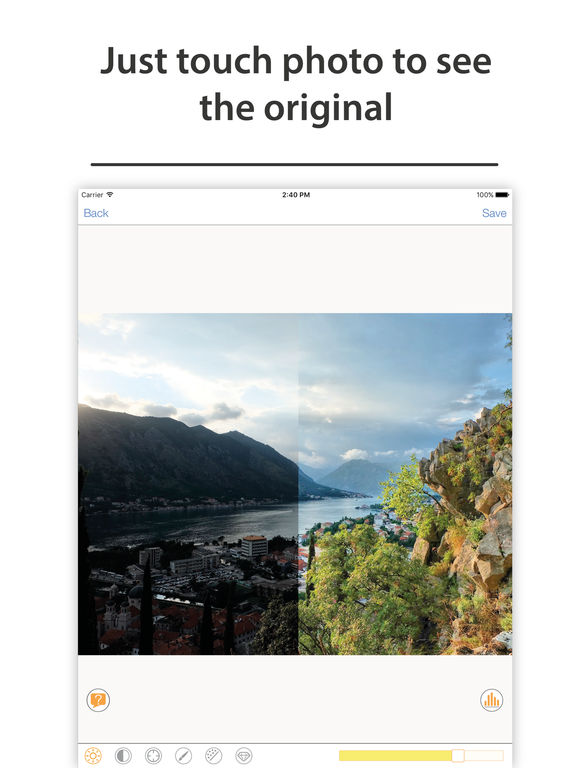Photo Adjust Pro - enhance & retouch dark picture Screenshots