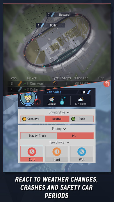 Motorsport Manager Mobile Screenshots