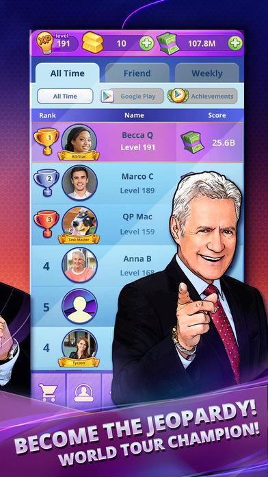 Jeopardy! World Tour screenshot 5