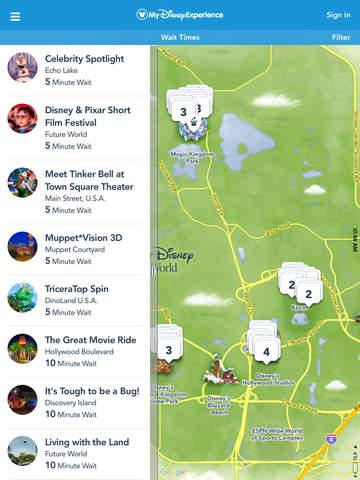 My Disney Experience screenshot 1