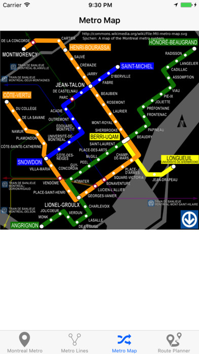 Montreal Metro & Subway Screenshots