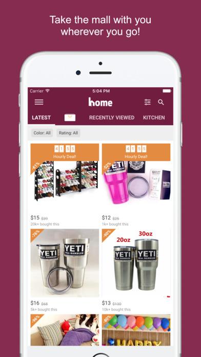iphone screenshot 1 - Home Design And Decor Shopping