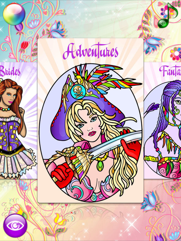 App Shopper Fashion Coloring Books For Adults With Girls Games Entertainment