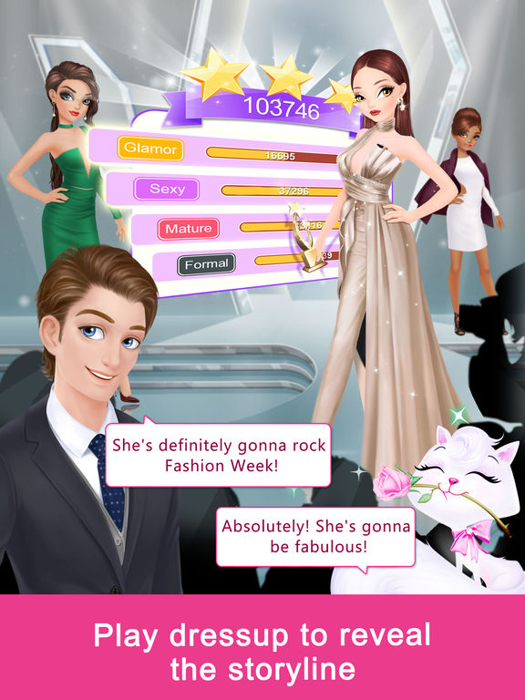 Fashion Fantasy - Dressup and Travel the Worldscreeshot 1