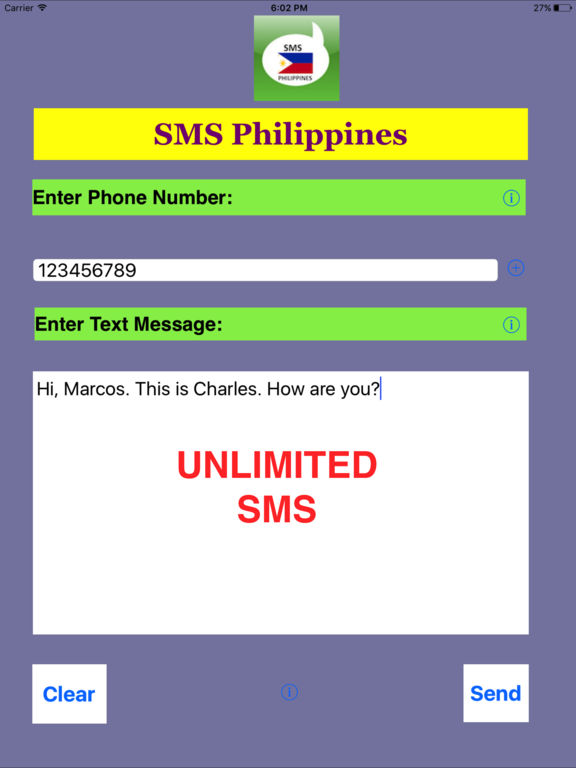 how to send free sms online in the philippines