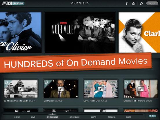 Screenshots of WATCH TCM for iPad