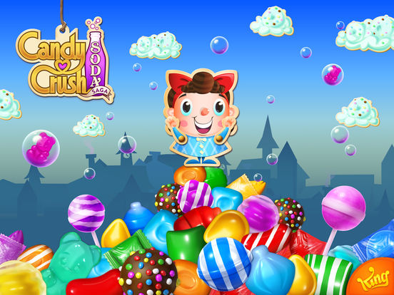 Candy Crush Soda Saga iPad