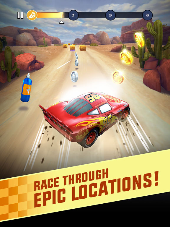 Cars: Lightning League screenshot 6