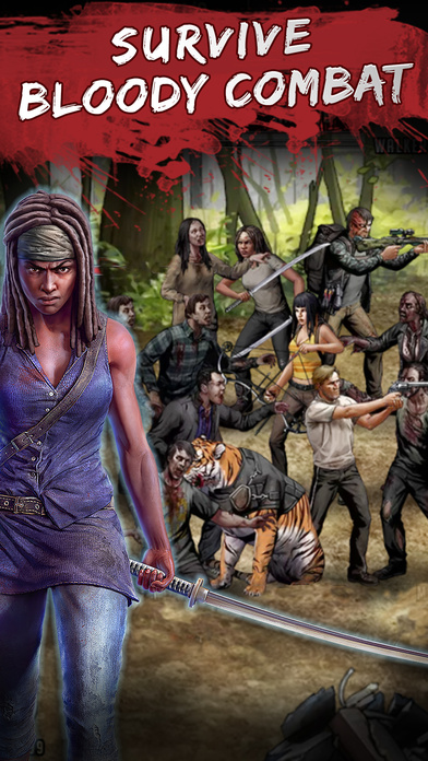 The Walking Dead: Road to Survival - Strategy Game Screenshots