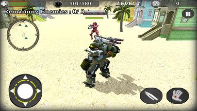 Train Robot Transformation screenshot 4