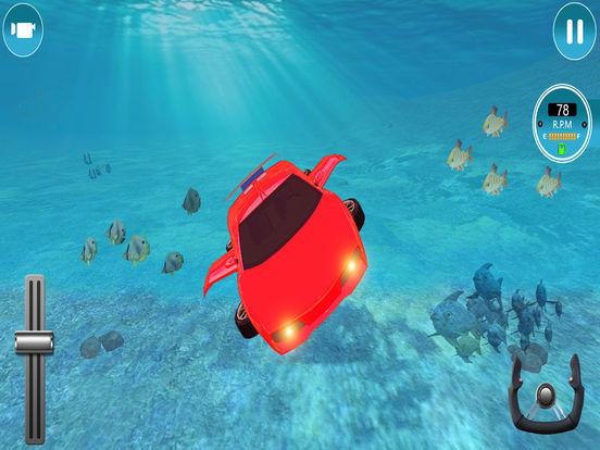 Modern Underwater Flying Car Survival 2017 screenshot 8