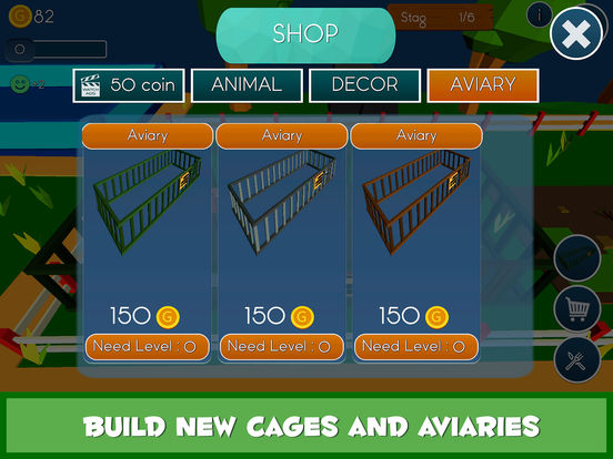 App shopper my zoo crafting building simulator 3d games for Crafting and building app store