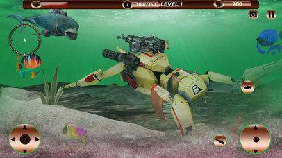 Angry Robot Shark Simulator screenshot 3