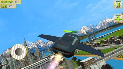 Futuristic Flying Car 3D screenshot 4