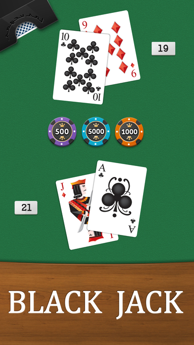 Screenshot 1 Black Jack Game — Multi Vegas Slot