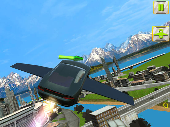 Futuristic Flying Car 3D screenshot 9