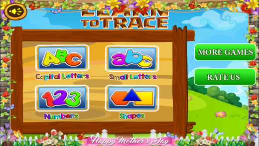 Trace It - Alphabets Numbers and Shapes Pro Screenshots