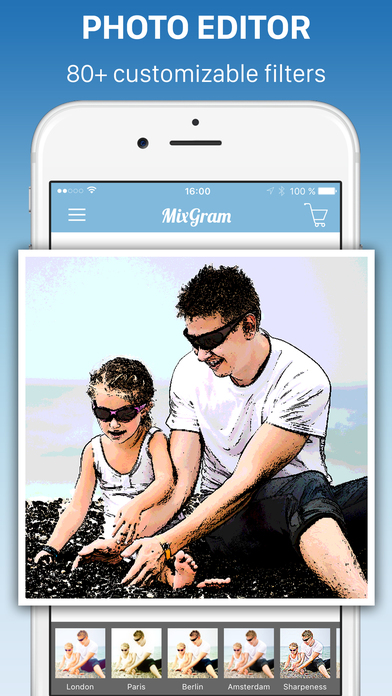 Pic Frames - Mixgram Editor Screenshots