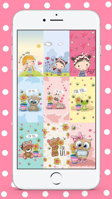 Cute HD Wallpapers & Lock Screen Backgrounds App Download - Android APK