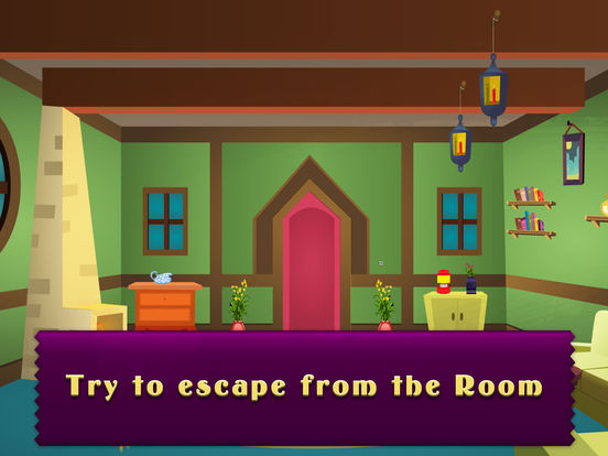 Can you escape from the green vintage room on the app store for Can you escape the room