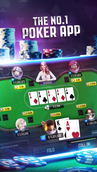Screenshot 1 Poker Online: Texas Holdem Card Game LIVE