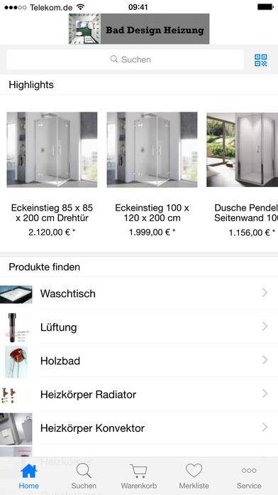 app shopper bad design heizung lifestyle. Black Bedroom Furniture Sets. Home Design Ideas