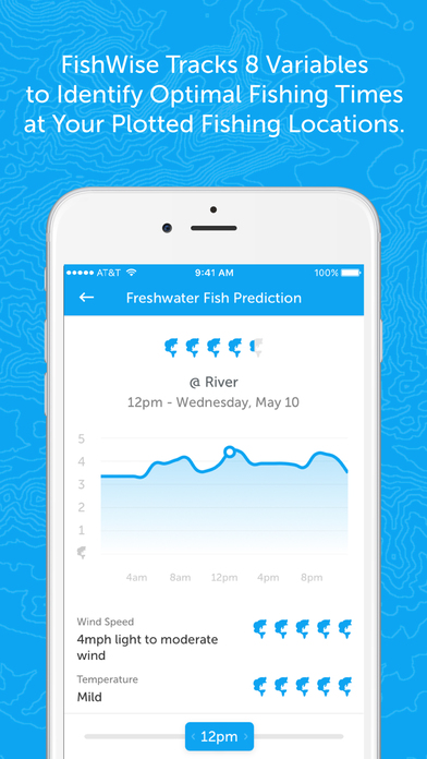 App shopper fishwise fishing apps fishing forecasts for Fish tracker app