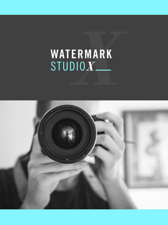 Screenshots of Watermark Studio X Free - Copyright & Trademark.s for iPad