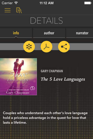 The Five Love Languages [by Gary Chapman] screenshot 1